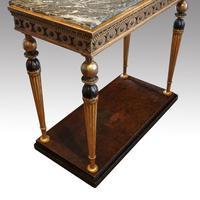 19th Century Swedish Gilt Console Table (2 of 10)