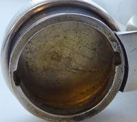 Birmingham 1917 Solid Hallmarked Silver Hip Flask William Neal & Sons 3/4 Pint (7 of 13)