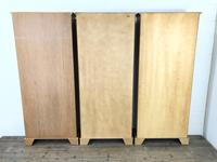 Three Yew Wood Reproduction Bookcases (9 of 9)