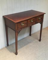 Inlaid Mahogany Side Table (2 of 10)
