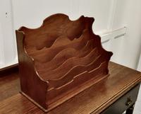 Charming Arts & Crafts Golden Oak Stationary Box (2 of 5)