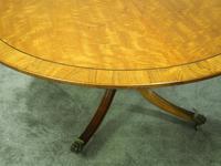 Victorian Mahogany Large Oval Breakfast Table (4 of 8)
