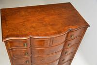 Large Antique Burr Walnut Chest of Drawers (8 of 11)