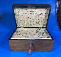 Victorian Walnut Jewellery Box (9 of 13)