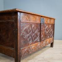 17th Century Oak & Elm Coffer (2 of 10)