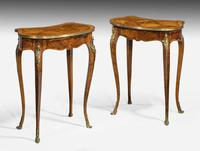 Pair of Late 19th Century Kidney Shaped Occasional Tables (2 of 8)