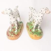 Pair Staffordshire Flatback Dalmatians (4 of 7)