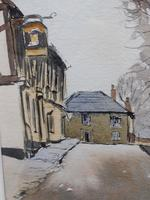 Watercolour and ink Dedham Listed artist Ronald Birch (8 of 10)