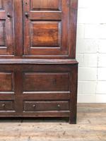 Large Antique 18th Century Welsh Oak Press Cupboard (M-808) (8 of 18)