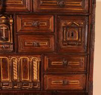Spanish Renaissance Cabinet Bargueno in Walnut - Early 17th Century (9 of 18)