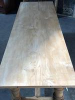 French large oak farmhouse dining table (11 of 38)