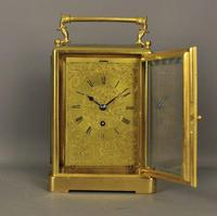 Fine English Fusee Carriage Clock (10 of 12)