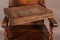 Good 17th Century Wainscot Armchair (12 of 13)