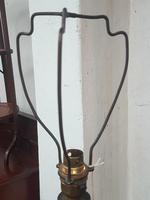 Edwardian Oak Lamp (2 of 5)