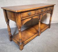 Oak Period Style Dresser Base - Royal Oak Furniture (2 of 10)
