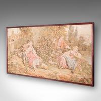 Antique Tapestry Panel, French, Framed, Needlepoint, Decorative, Edwardian, 1910 (3 of 10)