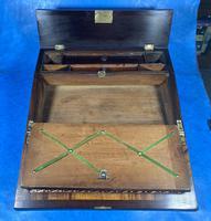 William IV Rosewood Lap Desk (13 of 18)