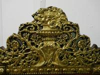 Large Napoleon III French Brass and Fruitwood Mirror (7 of 7)