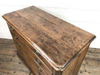 19th Century Elm Chest of Drawers (7 of 11)
