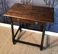 Oak Hall Table (2 of 9)