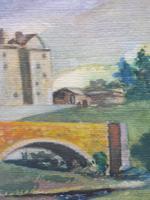 Watercolour Bourthwick  Castle Scotland, A B Moffat (5 of 10)
