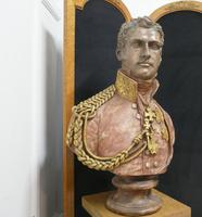Composition Bust of  The 1st King of the Belgians, Leopold 1st (6 of 10)