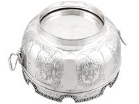 Sterling Silver Monteith Bowl - Antique Edwardian 1905 (17 of 18)