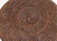 Burmese Side Table Antique Carved Burma Furniture (3 of 11)
