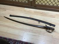 Sabre & Scabbard 1840's USA Calvary Sword,  Rare Sabre (8 of 18)