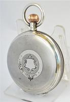 Antique 1911 Silver Waltham Bond Street Pocket Watch (2 of 5)