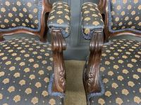 Pair of 19th Century French Rosewood Armchairs (3 of 16)
