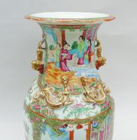 Good Large 19th Century Chinese Famille Rose Vase (9 of 12)