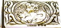 Arts & Crafts Silver Matchbox Cover - 1903 (4 of 4)