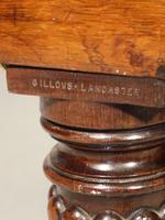Attractive Mid 19th Century Rosewood Chaise Lounge by Gillows of Lancaster (8 of 9)