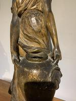 19th Century Large Terracotta Sculpture By Frederic Goldscheider (4 of 6)
