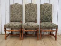 Set of Six Oak Os De Mouton Dining Chairs (3 of 9)