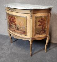 20th Century Marble Top Commode / Side Cabinet2 (4 of 11)