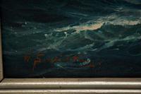 Antique Nautical Oil Painting (8 of 10)