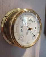 Antique Southampton Bulkhead Marine Barometer (2 of 7)