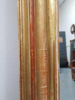 Antique Gilded Narrow French Mirror c.1860 (5 of 6)
