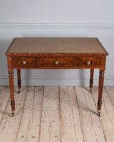 Fine Quality Late Regency Mahogany Library Table (2 of 8)