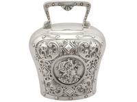 Sterling Silver Table Bell - Antique Victorian 1897 (5 of 12)