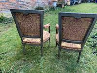 Pair of French Armchairs in Original Paint Finish (9 of 10)