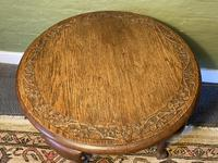 Carved Coffee Table (9 of 9)