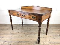 Antique Victorian Pitch Pine Table