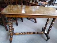 Burr Walnut Side Table (2 of 5)