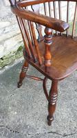 Wonderful Example of Handsome Yew High Back Windsor Chair (2 of 8)