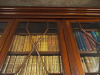 Large George III Style Mahogany 6 Door Cabinet Bookcase (12 of 17)