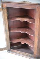 Rustic Oak Corner Cupboard (9 of 13)