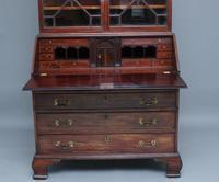 Superb Quality 18th Century Mahogany Bureau Bookcase (19 of 23)